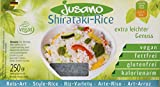 Jusano Shirataki Rice I Konjak-Reis aus Konjakmehl I Vegan I Glutenfrei I Kalorienarm I 1er Pack (5 x 250 g)