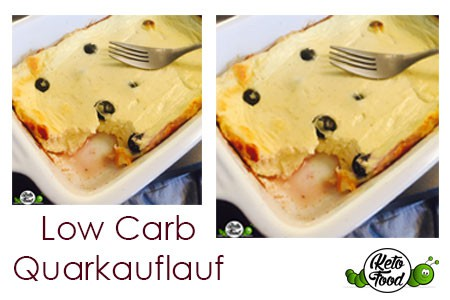 Low-Carb-Quarkauflauf