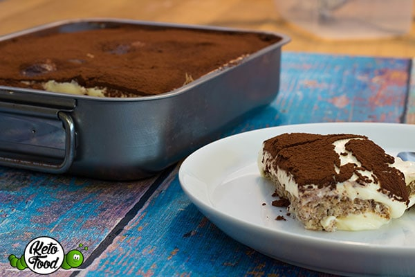 Keto Tiramisu Cake Recipe: Low Carb High Fat Tiramisu