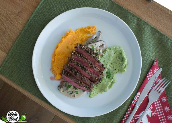 Low Carb Steinpilze in Sahnesauce
