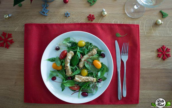 Low Carb Weihnachtssalat