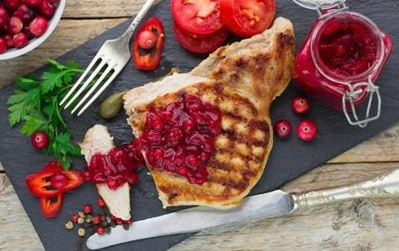 low carb Cranberry-Sauce