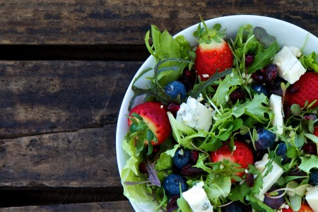 low carb Sommer Salat