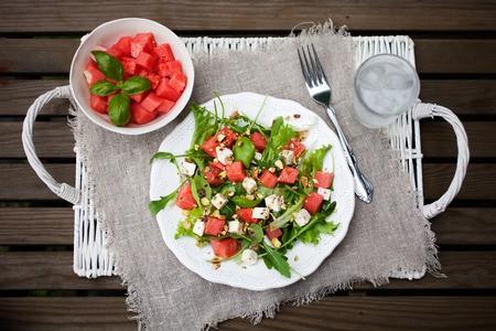 Low carb Wassermelonen Salat