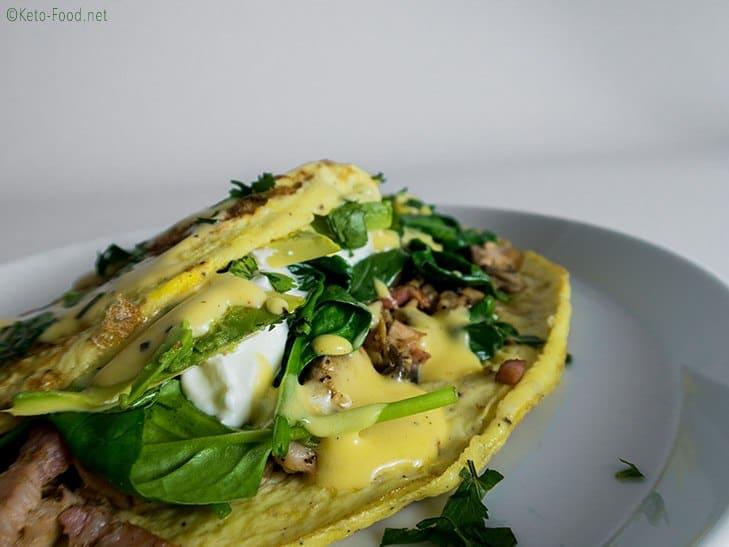 Fitness-Omelette
