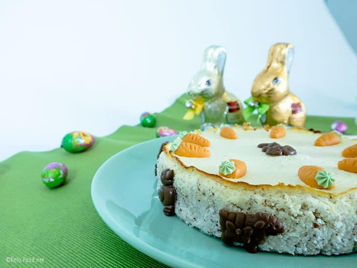 Low Carb Cheesecake Ostern