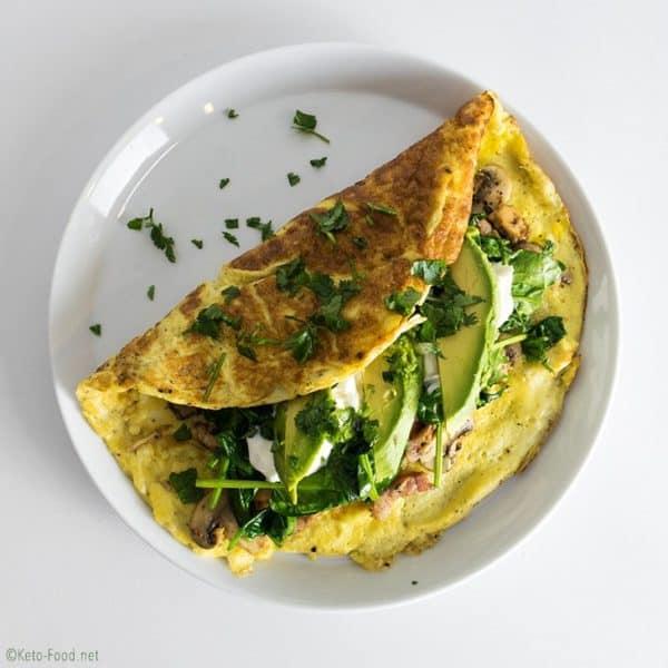 Keto-Omelette