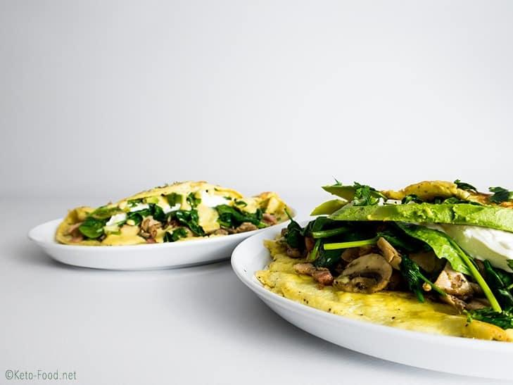 Ketogenes Omelette