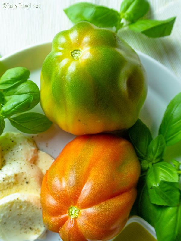 Gesunder Ketogener Caprese Salat