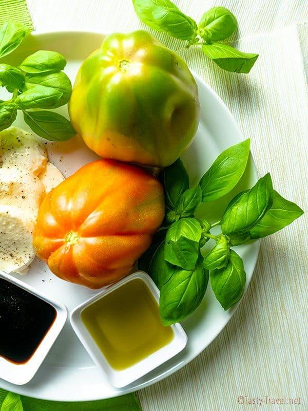 Leckerer Caprese Salat
