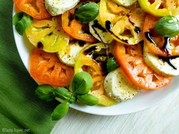 Low Carb Caprese Salat