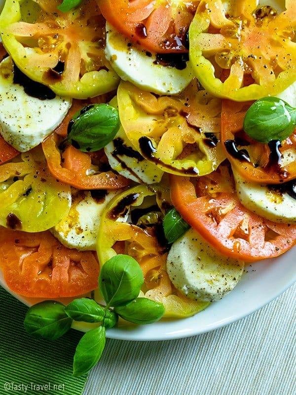 Ketogener Caprese Salat